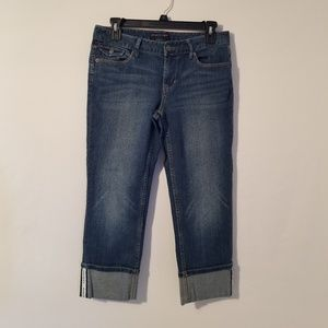 Banana Republic Wm's Crop Capri Jeans Size 27/4R